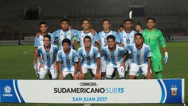 EN VIVO ONLINE semifinal de Sudamericano Sub 15 — Perú vs Argentina