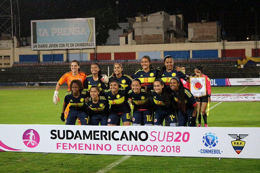 Colombia le ganó a Ecuador en el Sudamericano Femenino sub-20