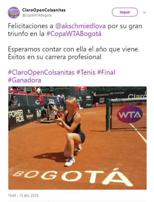 Tweet Claro Open