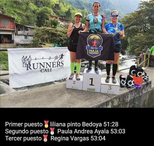 Liliana Pinto Bedoya corredora Buga