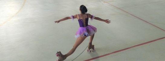 Paula Osorio patinaje artístico figura
