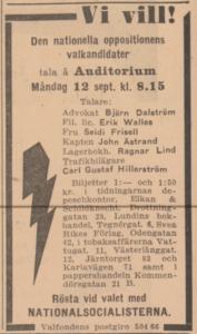 Erik Walles Sverigedemokraterna