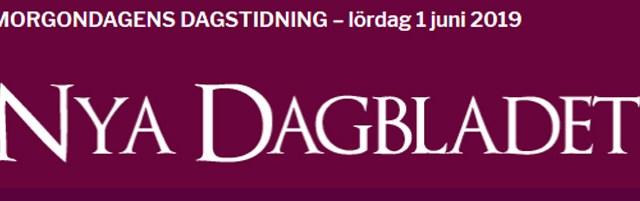 En genomgång av högerextrema sajten Nya dagbladet