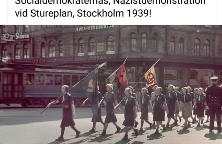 nazistdemonstration