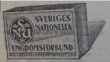 Sveriges nationella ungdomsförbund och dess program från 1934