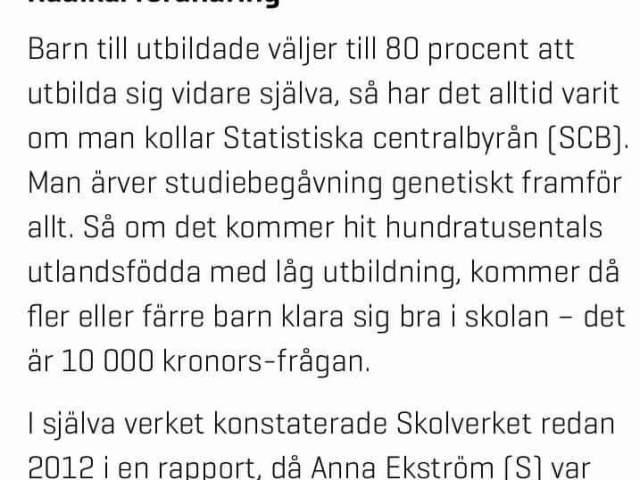Rebecka Weidmo Uvell och rasbiologin