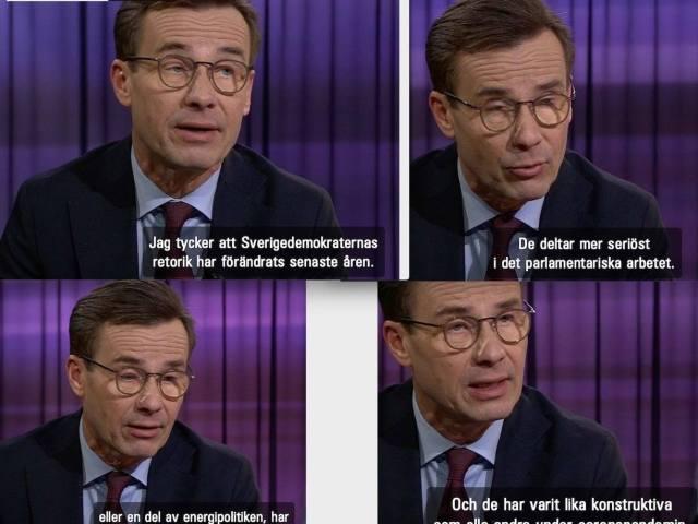 Sverigedemokraterna har inte alls förändrats Ulf Kristersson