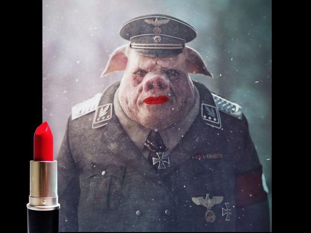 Åkesson, smutskastning och en sminkad gris