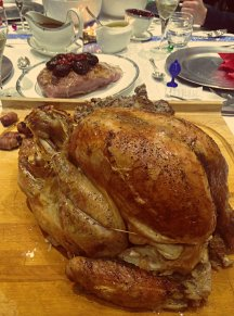 Christmas Turkey Dinner Polina Skrebneva blog 2