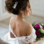 Свадебная диадема для прически