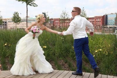 Красивая видеосъемка на свадьбу