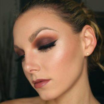 Вечерний макияж для голубых глаз мастер на дом