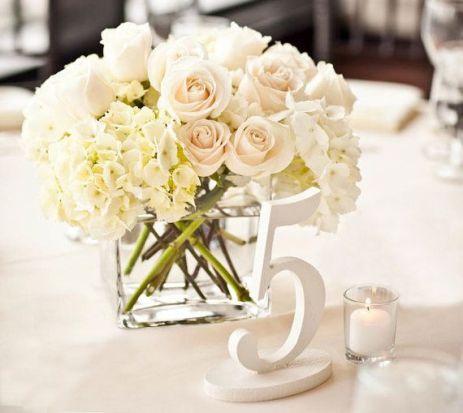 Номерки на гостевые свадебные столы