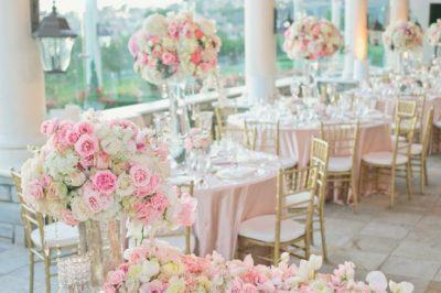 Свадьба в розовом стиле Москва