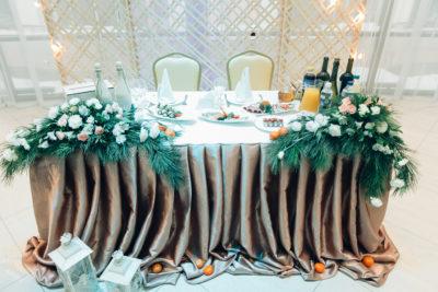 Свадьба в изумрудном цвете Москва