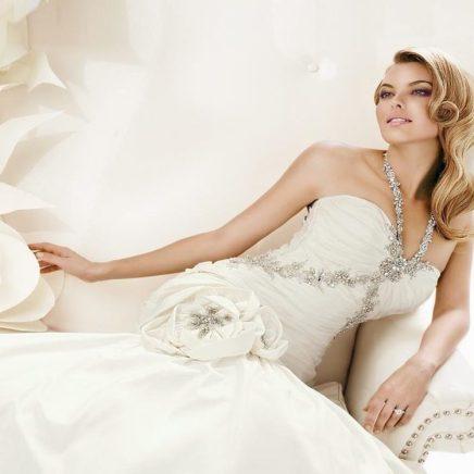Свадьба в белом образ невесты