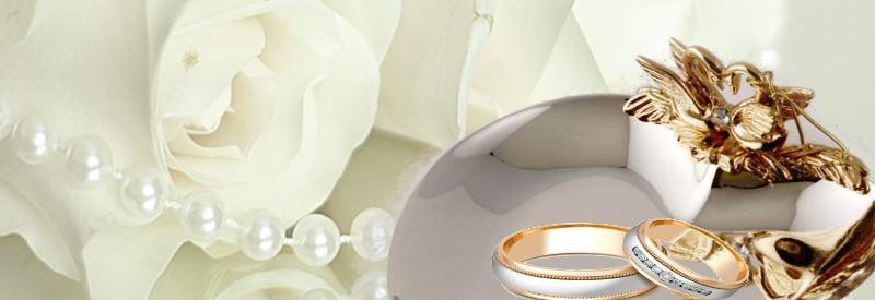 Бокалы на свадьбу белые
