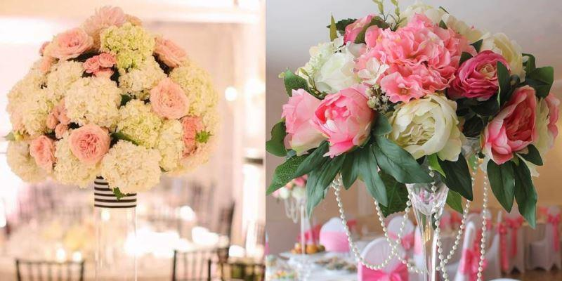 Декоративные цветы для свадьбы