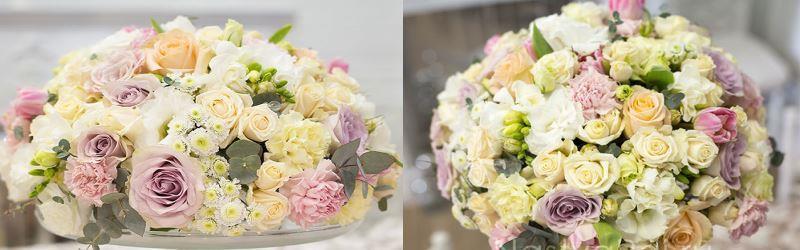 цветы на стол невесте