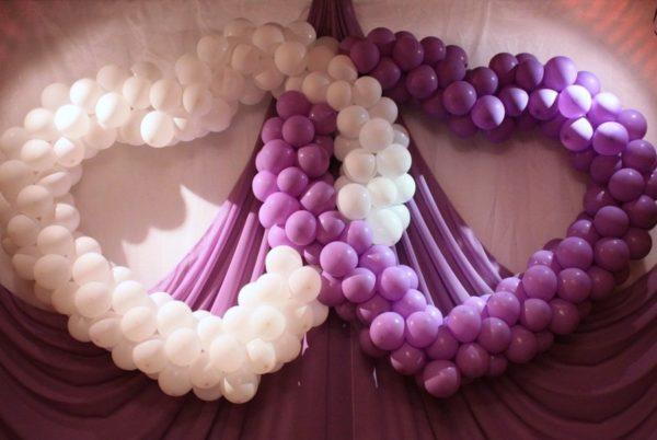 Оформление свадеб шарами цены Химки