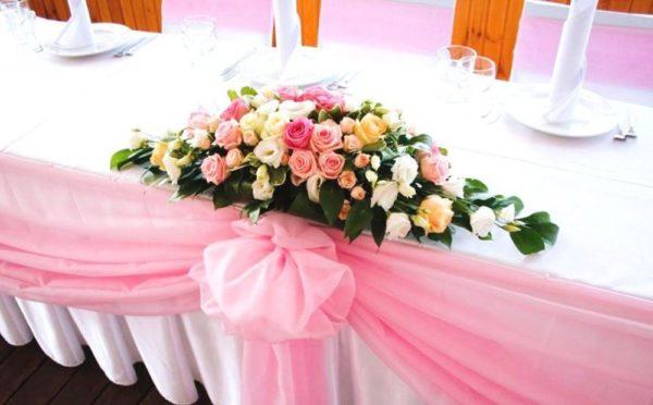 Оформление свадебного зала в цвете фуксия цена