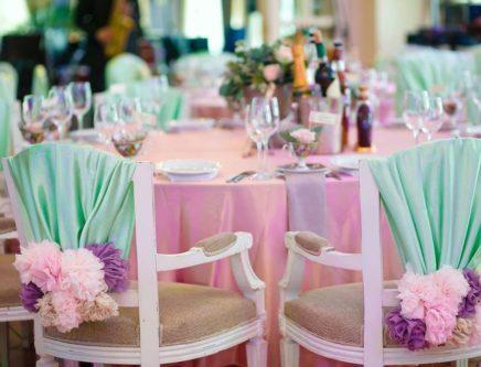 Оформление свадебного зала в цвете кремовом стоимость
