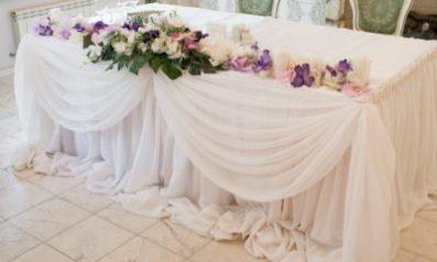 оформление свадьбы тканями Москва