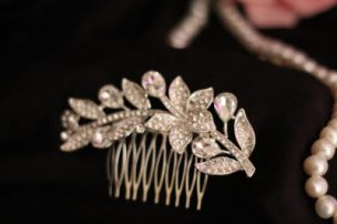украшение для волос вечерняя укладка
