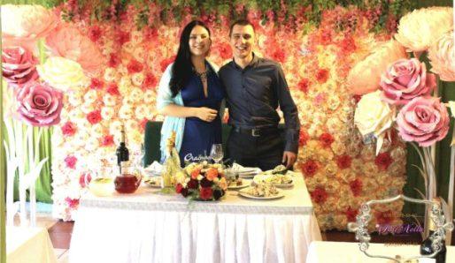Свадьба в персиковом стиле