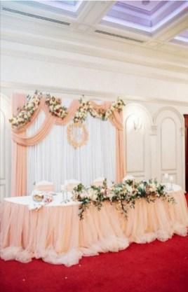 Оформление свадьбы фатином