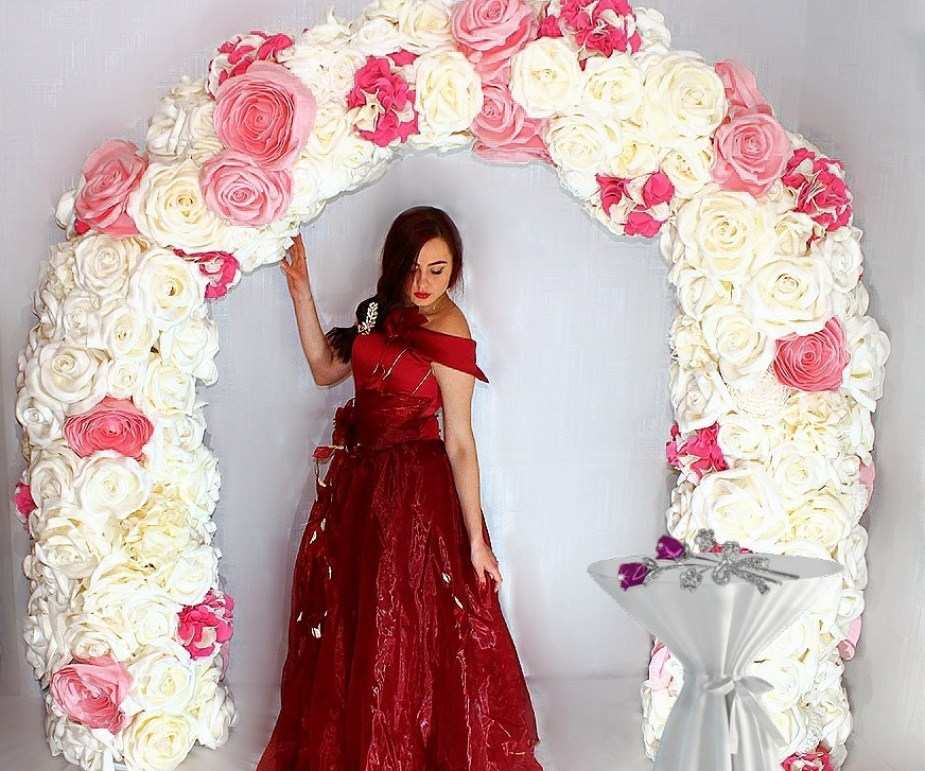 Выездная регистрация свадебная арка