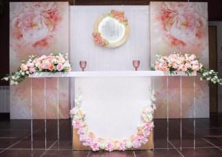 Стол на свадьбу премиум класса