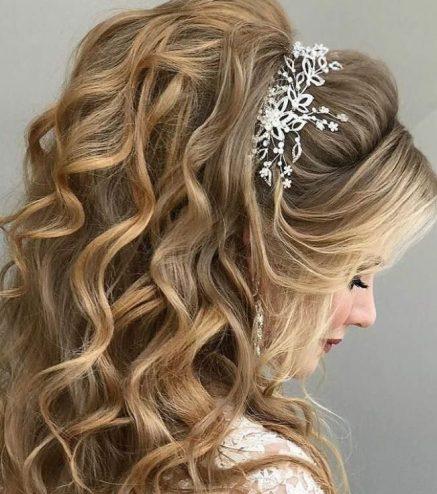 невеста прическа и макияж