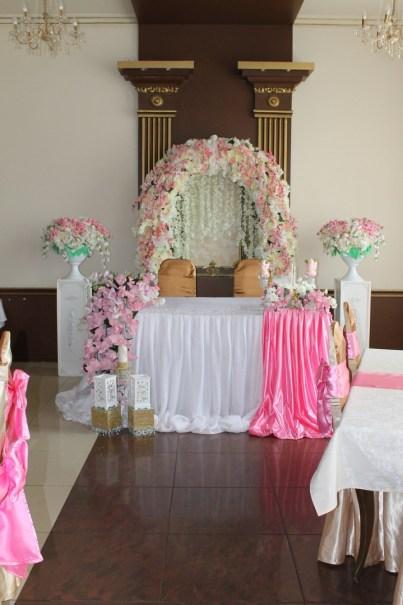 Свадьба в Москве недорого украшение зала