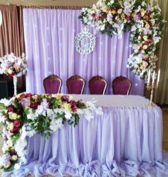 Оформление свадьбы в лавандовом цвете Москва