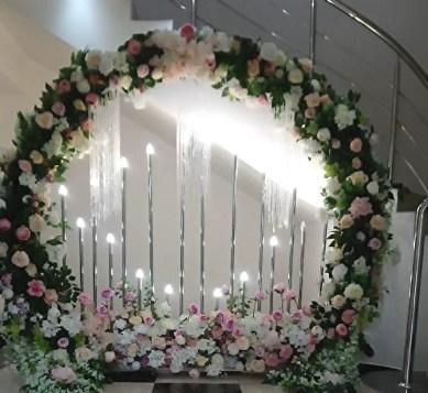 Свадебная арка круглая