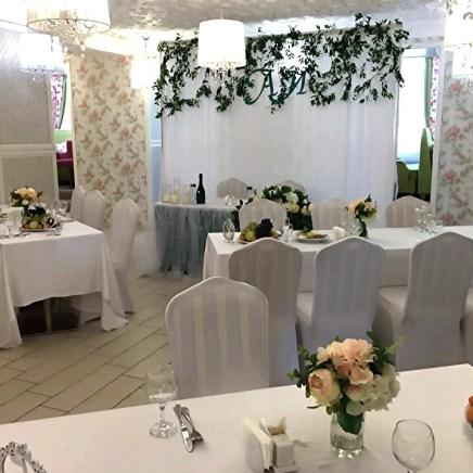 Свадебное оформление зала Москва