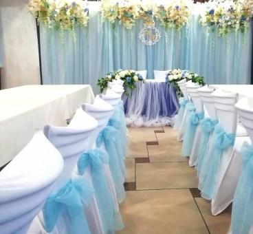 Свадьба в голубом стиле