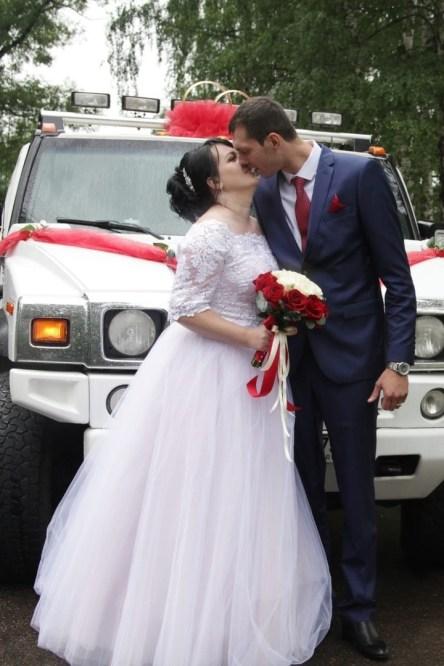 Красно-белая свадьба организация