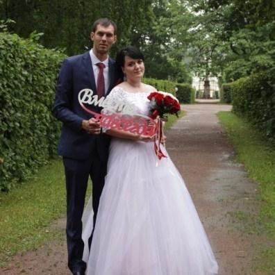 Свадьба в красно-белом цвете Москва