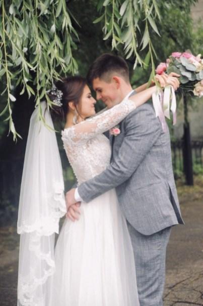 Оформление персиковой свадьбы