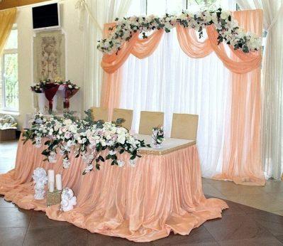 свадьба в персиковом стиле Москва