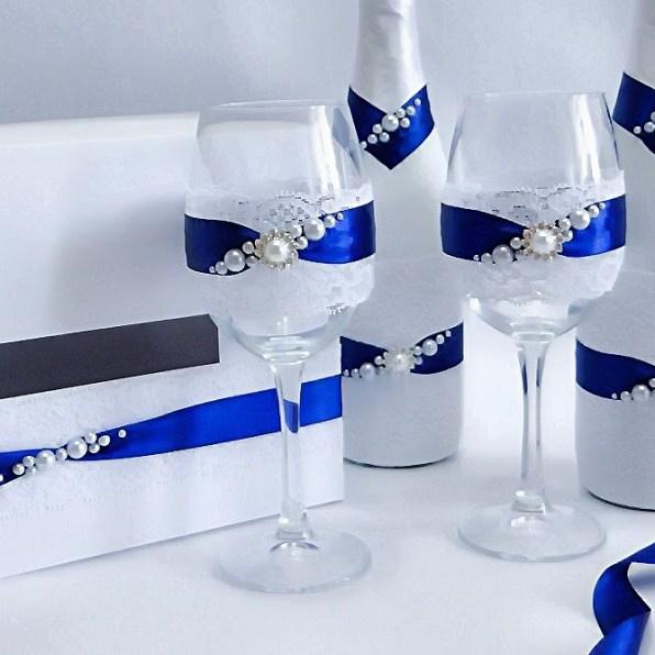 Свадебные бокалы для невесты