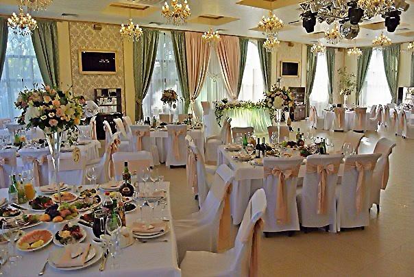 Свадебные залы оформление недорого Москва