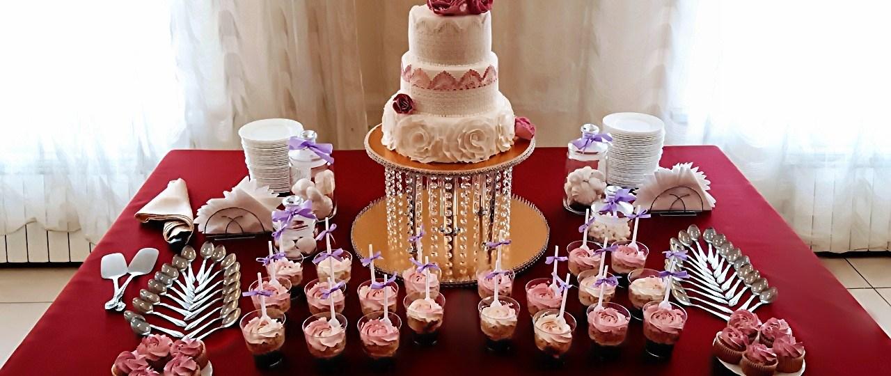 Сладкий стол на свадьбу Москва недорого