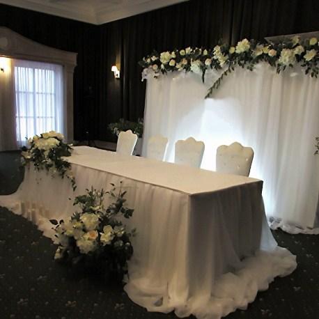 Свадьба в белом оформление