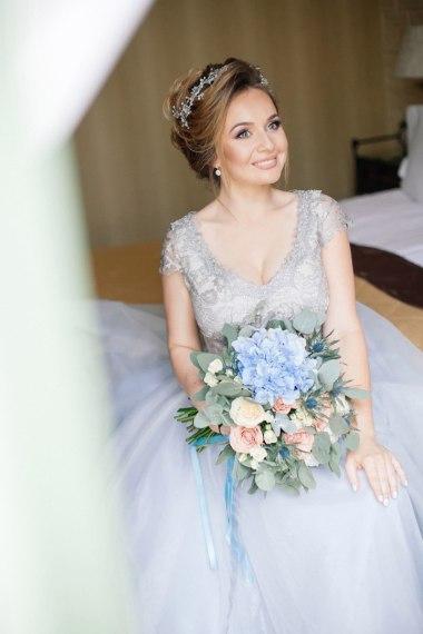 Прическа на свадьбу