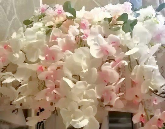 Украшение стола на свадьбу жениха и невесты