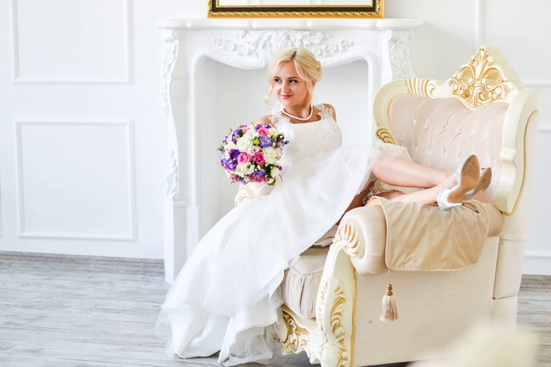 Фото невест со свадьбы