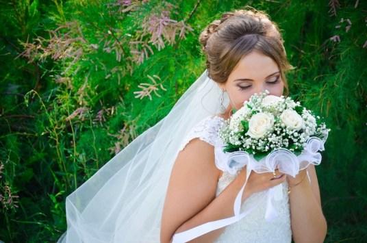 Фото невест и цветов на свадьбу
